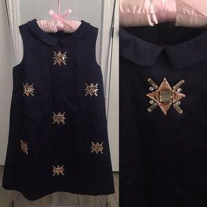 *H&M* Dressy Satin Embellished A-line dress